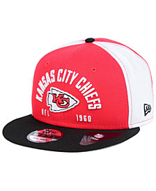 New Era Kansas City Chiefs Establisher 9FIFTY Snapback Cap