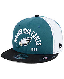 New Era Philadelphia Eagles Establisher 9FIFTY Snapback Cap