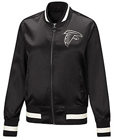 Touch by Alyssa Milano Women's Atlanta Falcons Touch Satin Bomber Jacket