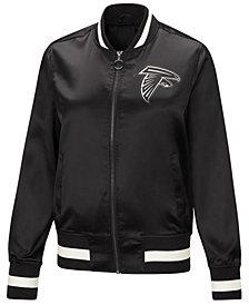 Touch by Alyssa Milano Women's Atlanta Falcons Touch Satin Bomber Jacket
