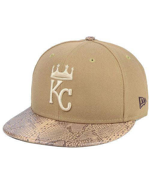 New Era Kansas City Royals Snakeskin Sleek 59FIFTY FITTED Cap