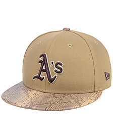New Era Oakland Athletics Snakeskin Sleek 59FIFTY FITTED Cap