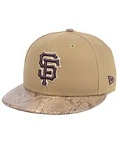 55e03c7f677c4 New Era San Francisco Giants Snakeskin Sleek 59FIFTY FITTED Cap
