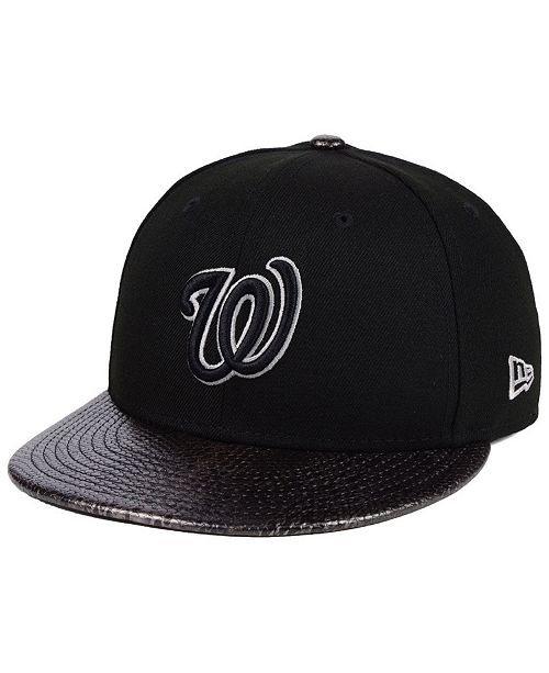 info for cce61 4fa31 ... New Era Washington Nationals Snakeskin Sleek 59FIFTY FITTED Cap ...