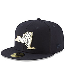 New Era New York Yankees Gold Stated 59FIFTY FITTED Cap
