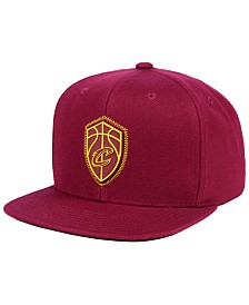 8ad8c941a8b Mitchell   Ness Cleveland Cavaliers Rubber Weld Snapback Cap ...
