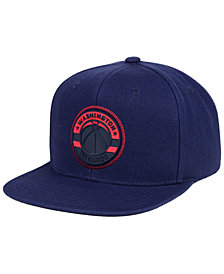 Mitchell & Ness Washington Wizards Zig Zag Snapback Cap