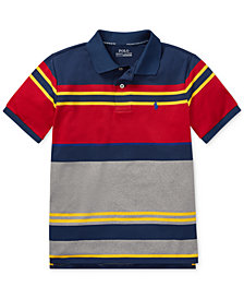 Polo Ralph Lauren Big Boys Striped Performance Polo