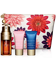 Clarins 4-Pc. Double Serum & Multi-Active Set