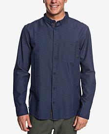 Quiksilver Men's Waterfall Poplin Shirt