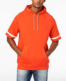 Sean John Men's Striped Sleeve Hoodie