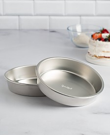 "Goodful™ 2-Pc. Aluminum 9"" Round Cake Pan Set, Created for Macy's"