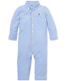 Ralph Lauren Baby Boys Cotton Oxford Coverall