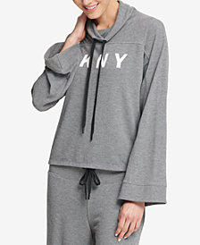 DKNY Sport Funnel-Neck Top, Created for Macy's