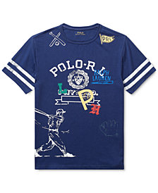 Polo Ralph Lauren Toddler Boys Graphic Cotton T-Shirt