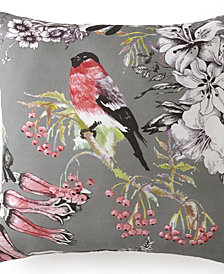 "Birds In Bliss Square Cushion 18""x18"" - Birds"