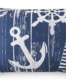 Nautical Board Pillow Sham-King