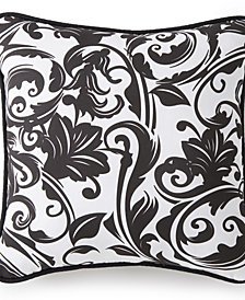 "Scrollwork Square Cushion 18""x18"" - Scroll Pattern"