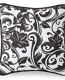 "Scrollwork Square Cushion 18""x18"" - Scroll Pattern"