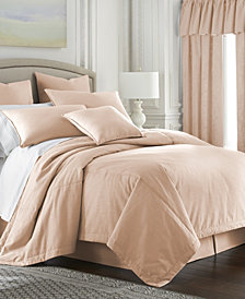 Cambric Peach Coverlet Twin