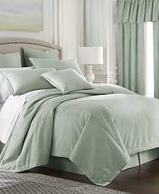 Cambric Seafoam Coverlet-King