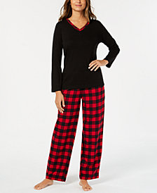Charter Club Mix It Up Pajama Set, Created for Macy's