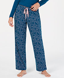 I.N.C. Printed Pajama Pants, Created for Macy's