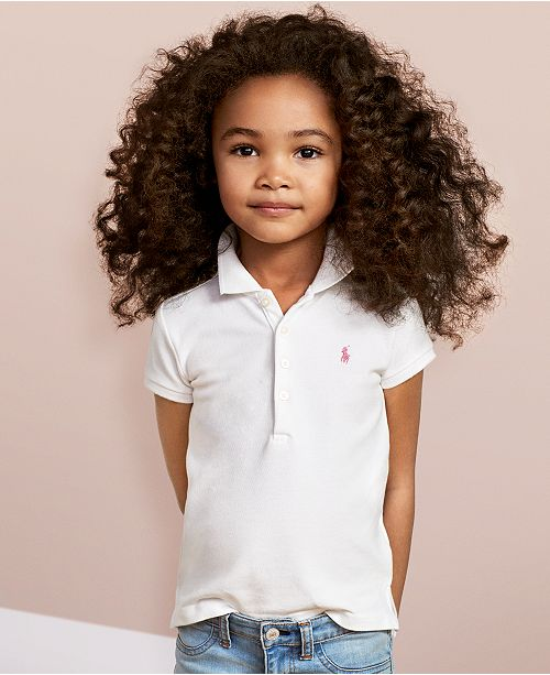 61cb8a41 Polo Ralph Lauren Polo Little Girls Shirt & Reviews - Shirts & Tees ...