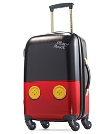"Mickey Mouse 21"" Carry-On Spinner Suitcase"