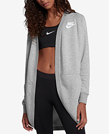 Nike Sportswear Rally Relaxed Fleece Cardigan