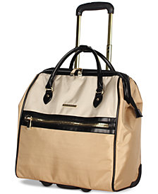 CLOSEOUT! BCBG MAXAZARIA Luxe Wheeled Under-Seat Carry-On Suitcase
