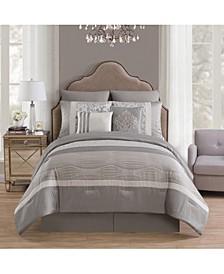 Arcadia 8-Pc. King Comforter Set