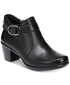 Elisa Leather Booties