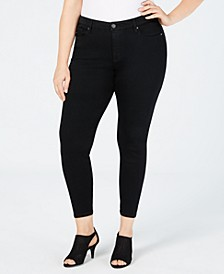 Plus Size Seamless High-Rise Ankle Jeggings, Created for Macy's
