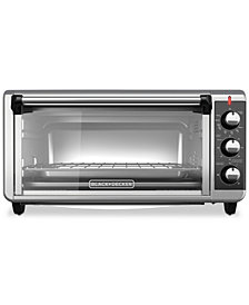 Black & Decker TO3250XSB 8-Slice Extra-Wide Convection Toaster Oven