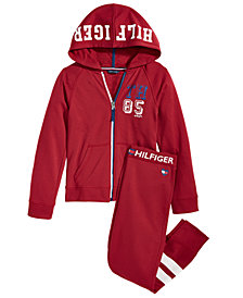 Tommy Hilfiger Big Girls Hoodie & Sweatpants