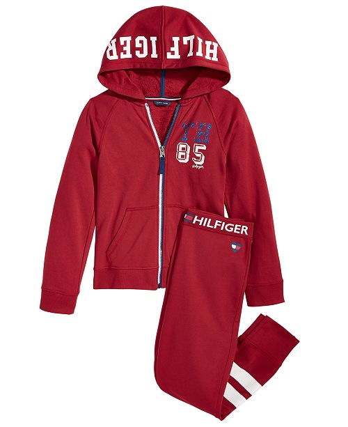 893b03dd6b87d0 Tommy Hilfiger Big Girls Hoodie & Sweatpants & Reviews - Sets ...