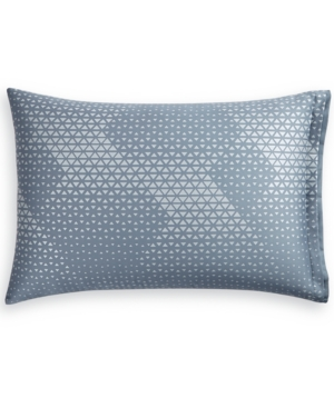 Closeout! Hotel Collection Cascade Cotton 400-Thread Count Blue King Sham, Created for Macy's Bedding