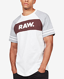 G-Star RAW Men's Beatal Colorblocked Logo T-Shirt