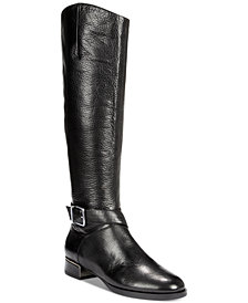 Kenneth Cole New York Women's Branden Buckle Riding Boots