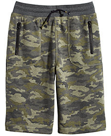 Epic Threads Big Boys Camo-Print Pull-On Shorts, Created for Macy's
