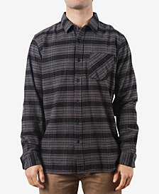 Rip Curl Men's Flannel Striped Shirt