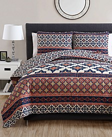 Felicity Reversible 3-Pc. Full/Queen Quilt Set