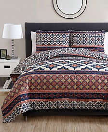 VCNY Home Felicity Reversible Quilt Set Collection