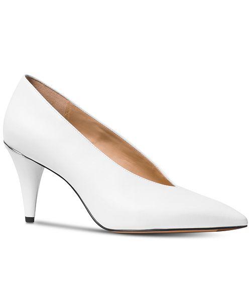 8bd23d9a98f3 Michael Kors Lizzie Mid Pumps   Reviews - Pumps - Shoes - Macy s