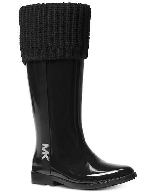 23a1169d9d9c Michael Kors Mandy Rain Boots   Reviews - Boots - Shoes - Macy s