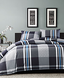 INK+IVY Nathan 3-Pc. Full/Queen Comforter Mini Set