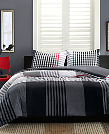INK+IVY Blake 2-Pc. Twin Duvet Cover Set