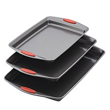 Nonstick 3-Piece Bakeware Cookie Pan Set