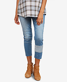 Motherhood Maternity Cropped Boot-Cut Jeans